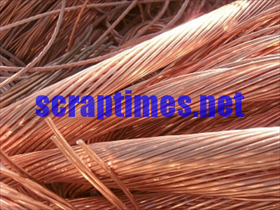 Bare Bright Copper Wire (Cu >99%) metal scrap market price