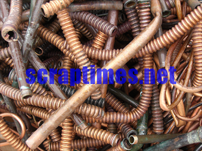 No.2 Copper (Cu 94-96%) metal scrap market price