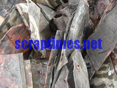 No.3 Copper (Cu 88-90%) metal scrap market price
