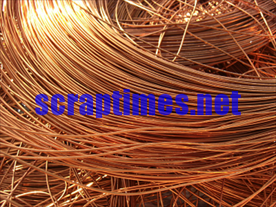 Enameled Copper Wire metal scrap market price