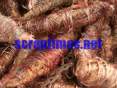 Light Copper metal scrap market price