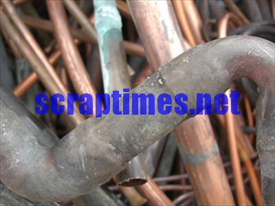 Soldered Copper Pipe metal scrap market price