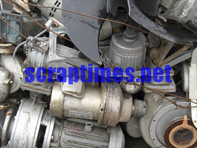 Large Electric Motors metal scrap market price